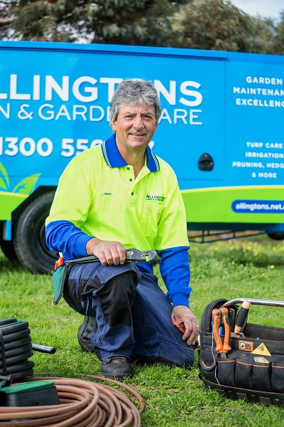 Contact David Allington from , Allingtons Lawn