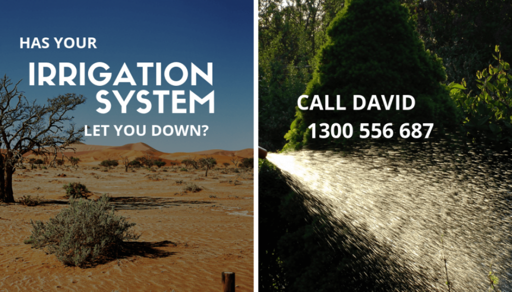 Allingtons Lawn & Garden Care, IRRIGATION SYSTEM Advert
